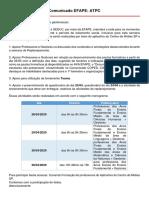 Atpc - Comunicado Efape