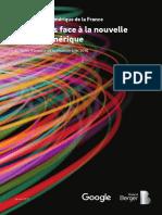 Etats des lieux numériques de la France