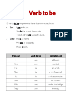 Verb to be (present)