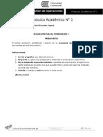 PAN°1 gestion de operaciones Gabriel Gonzales Segura