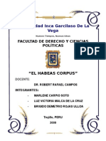 El Habeas Corpus