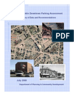 Franklin Downtown Parking Study 2008