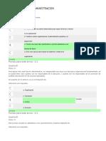 evaluaciones  de FUNDAMENTOS DE ADMINISTRACION