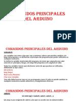 COMANDOS PRINCIPALES DEL ARDUINO (1)
