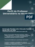 Perfil do Professor Universitário no Século XXI