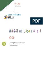 DesignForLife_MarcRettig_UserFriendly2009