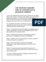 Gobierno mexicano suspende actividades no esenciales por la emergencia sanitaria.pdf