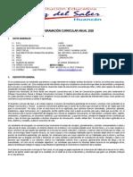 P.C.A. PRIMARIA-COMUNICACION 2020-6TO GRADO
