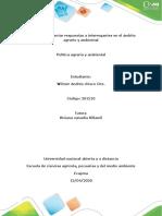 Anexo 1. Tarea 4 –  politica agraria_ wilmer chisco_ Argumentar respuestas a interrogantes del ámbito agrario y ambiental