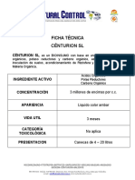 FICHA TECNICA CENTURION
