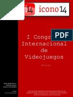 Actas 5. I Congreso Internacional de Videojuegos