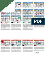 2020 SMEP Calendar