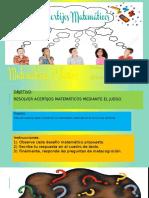 Diego Velasquez - ACERTIJOS MATEMATICOS.pptx