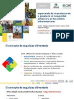 Importancia de los productos de la ganadería en la seguridad alimentaria de los pueblos latinoamericanos