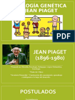 Psicología Genética de Jean Piaget