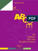 Manual das Hepatites Virais para dentistas