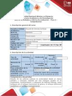 Guía de actividades y rúbrica de evaluación - Paso 3 - Comprobación.docx