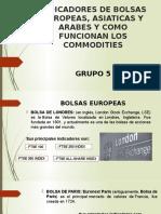 INDICADORES DE BOLSAS EUROPEAS%2c ASIATICAS Y ARABES