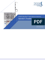 Fresenius 2008T Dialysis System - User's troubleshooting manual