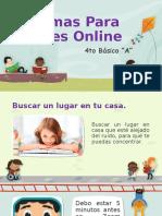Normas Para Clases Online