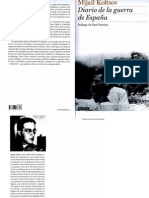 Kolstov, M. -  Diario de la guerra de España