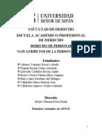 ATRIBUTOS DE LA PERSONALIDAD III CICLO USS