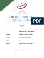 Estructura jerárquica de las normas jurídicas en el Estado peruano