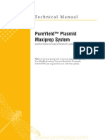 Pureyield Plasmid Maxiprep System