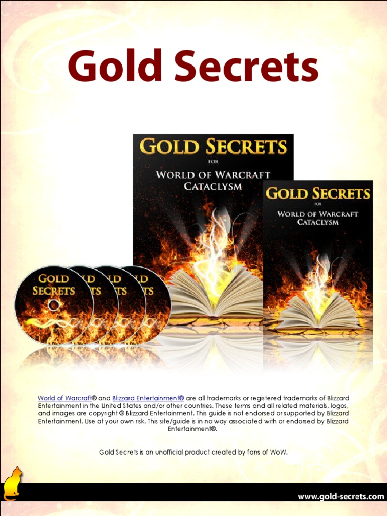 Gold Secrets Gold Guide Auction World Of Warcraft