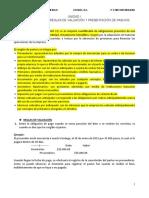 UNIDAD I CONTROL INTERNO, REGLAS DE VALUACION Y PRESENTACION DE PASIVOS