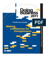 IFC - Doing Business 2011 - Trinidad & Tobago