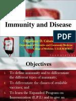 [PPT] DPC 1.4.2 Immunity and Disease - Dr. Cabanos.pdf