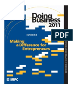 IFC - Doing Business 2011 - Suriname