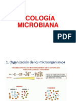 A. ecología microbiana a 2018