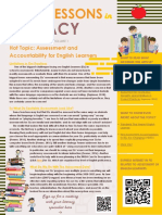 hot topics newsletter - assessment and accountability for english learners - madison lewis