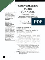 CONVERSANDO SOBRE BONNEUIL