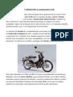 MOTORCYCLE CUB
