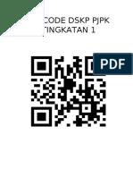 Qr code DSKP PJK T1