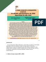 COMPOSICION CORPORAL DEPORTISTA ELITE