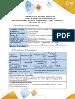 Guía de actividades y rúbrica de evaluación - Fase 1 - Reconocer los conceptos del curso