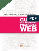 """""""Guide Des Meilleures Pratiques Web"""" AllianceNumerique.com"""