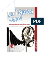 La técnica vocal- vol1