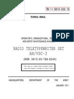 TM 11-5815-332-15