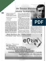 Artigo sobre Aristides de Sousa Mendes, por Luís Norberto Lourenço, rev. Raia