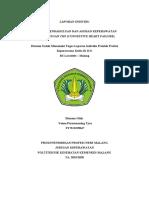 laporan pendahuluan CHF