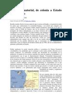 Guinea Ecuatorial De Colonia a Estado Con Derecho