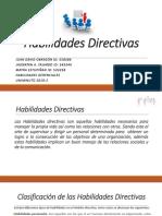 Actividad #1 Habilidades Directivas