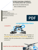 4.6 Distribucion fisica mercadotecnia