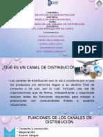 4.2 IMPORTANCIA DE LOS CANALES DE DISTRIBUCION
