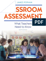 W. James Popham - Classroom Assessment_ What Teachers Need to Know-Pearson (2018) (1).pdf